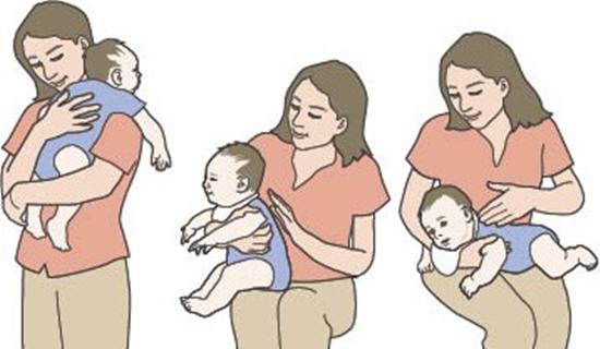 Làm thế nào khi trẻ đau bụng, đầy hơi?