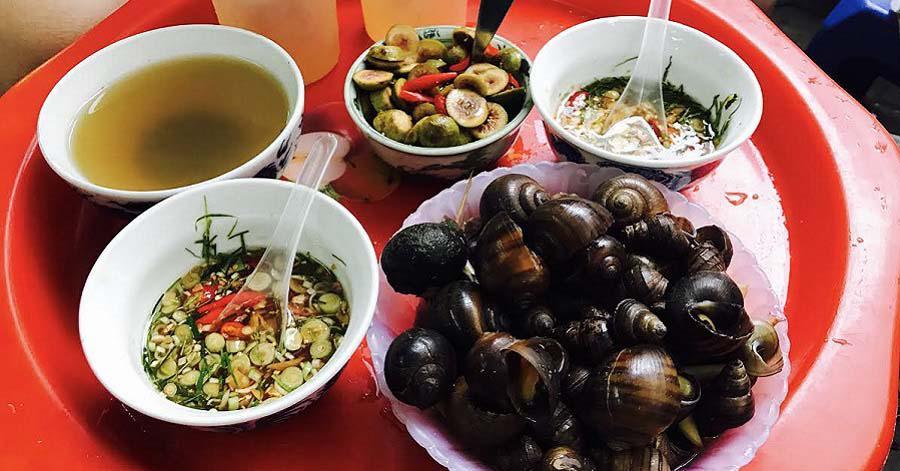 Xuýt xoa với những món ốc cay ngon nhất Hà Nội